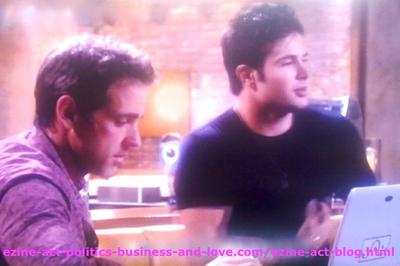 Eddie Duran (Cody Longo) Agreed with his Dad Max Duran (Carlos Ponce) that There's No Other Girl Like Loren Tate (Brittany Underwood) in Hollywood Heights.