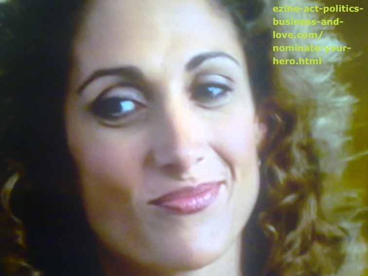 Melina Eleni Kanakaredes on Nominate Your Hero or Heroine