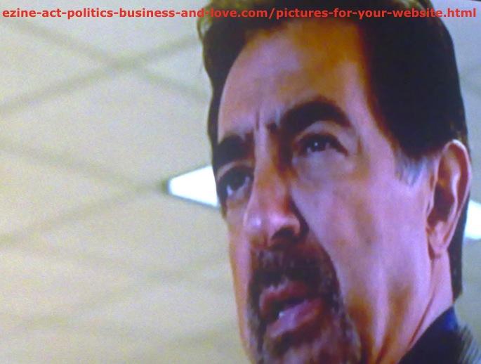 Pictures for Your Website, Joe Mantegna, David Rossi, in Criminal Minds
