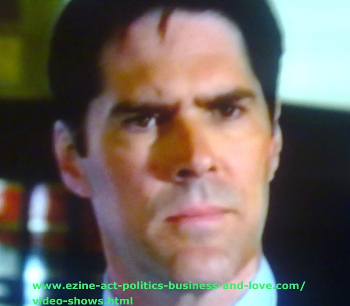 Pictures for Your Website, Thomas Gibson, Aaron Hotchner, in Criminal Minds