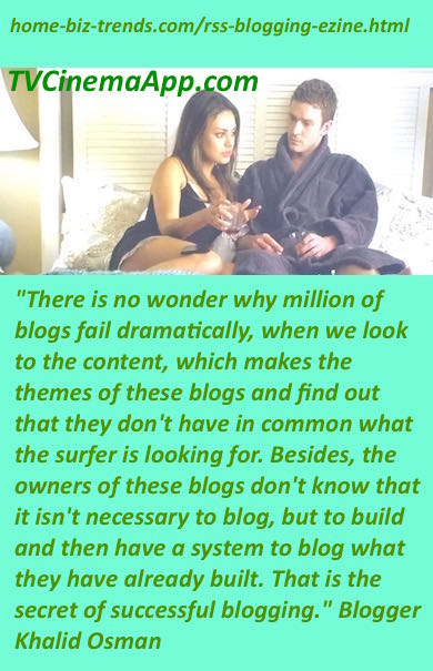 home-biz-trends.com: RSS Blogging Ezine shows you the secret of blogging that starts with building and then having a system to blog what you build.