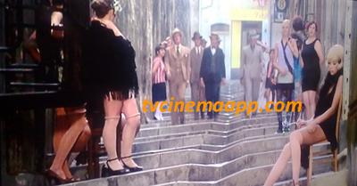 Same Gender Love: Love on the streets of Marseille, France in the movie Borsalino starred Alain Delon and Jean-Paul Belmondo.