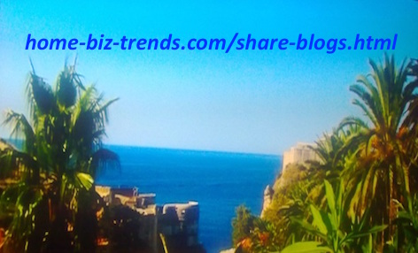 home-biz-trends.com - Share Blogs: Natural View from Dubrovnik City on the Isthmus of Dubrovnik at the Adriatic Sea in Croatia.