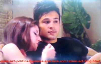 Loren Tate (Brittany Underwood) with the First Love in Her Life, Eddie Duran (Cody Longo) in Hollywood Heights.
