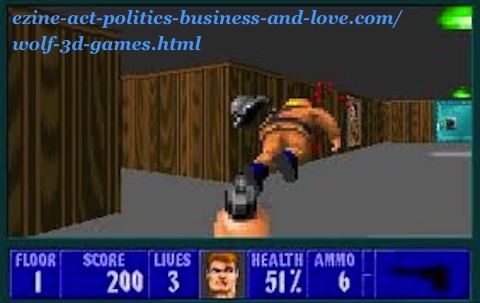 Wolf 3D games to download and enjoy playing games safely offline